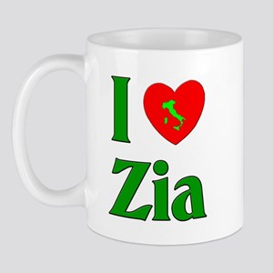 I (heart) Love Zia Mug